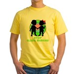 Stop Global Warming Yellow T-Shirt