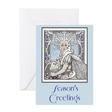 Snowflake Queen Greeting Card