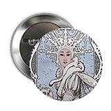 "Snowflake Queen 2.25"" Button"