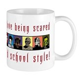 Old School Scared Coffee Mug