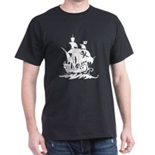 Dark Pirate Ship T-Shirt