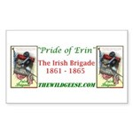 Pride of Erin - Rectangle Sticker