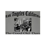 Los Angeles California Rectangle Magnet (10 pack)