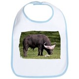 Cape Buffalo Eating Bib