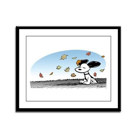 Wind Beneath His Ears Framed Panel Print