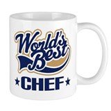 Worlds Best Chef Small Mug
