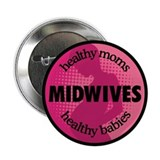 "Midwives 2.25"" Button (100 pack)"