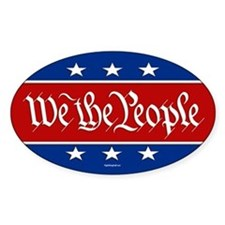 We The People Decal