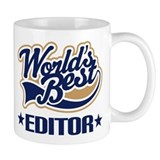 Worlds Best Editor Coffee Mug