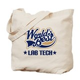 Worlds Best Lab Tech Tote Bag