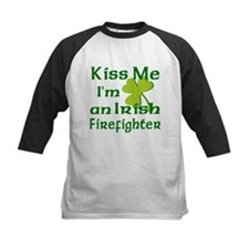 Kiss Me I'm an Irish Firefighter Tee
