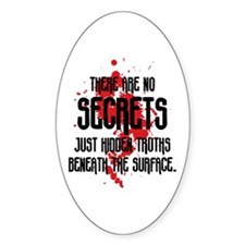 DEXTER: There Are No Secrets Decal