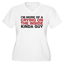 Dexter: Crying On The Inside T-Shirt