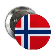 "Norway Flag 2.25"" Button (10 pack)"