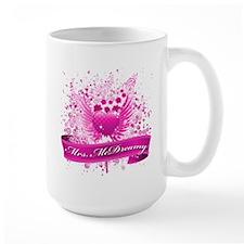mrs mcdreamy Large Mug
