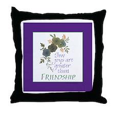 Friendship - Throw Pillow