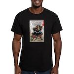 Japanese Samurai Warrior Morimasa (Front) Men's Fi