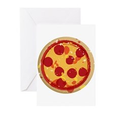 Pizza by Joe Monica Greeting Cards (Pk of 10)