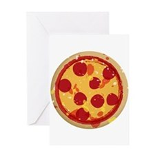 Pizza by Joe Monica Greeting Card