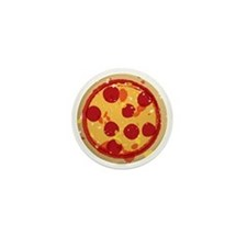 Pizza by Joe Monica Mini Button