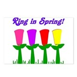 Ring in Spring Postcards (Package of 8)