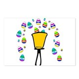 Easter Egg Fountain Postcards (Package of 8)