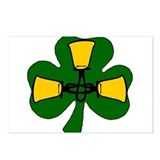Triple Bell Shamrock Postcards (Package of 8)