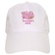 Worlds Best Teachers Aide Baseball Cap