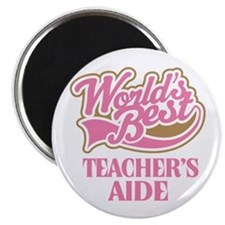 Worlds Best Teachers Aide Magnet