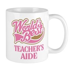 Worlds Best Teachers Aide Mug