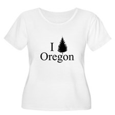 Cute Oregon women T-Shirt