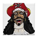 Pirate Captain Tile Coaster