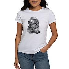 Irish Wolfhound Pair Tee
