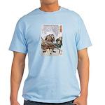 Japanese Samurai Warrior Nagamasa Light T-Shirt