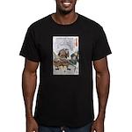 Japanese Samurai Warrior Nagamasa (Front) Men's Fi