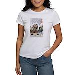 Japanese Samurai Warrior Nagamasa Women's T-Shirt