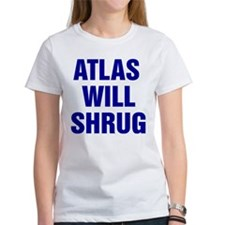 Atlas Will Shrug Tee
