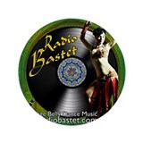 "Radio Bastet 3.5"" Button"