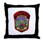 Moreno Valley Death City Throw Pillow