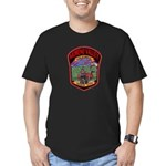 Moreno Valley Death City Men's Fitted T-Shirt (dar