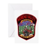 Moreno Valley Death City Greeting Card