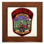 Moreno Valley Death City Framed Tile