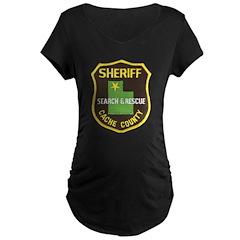 Cache County Sheriff Search & Maternity Dark T-Shi