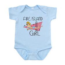 Fire Island Girl Infant Bodysuit