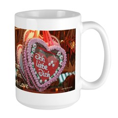 From Berlin with Love Large Mug