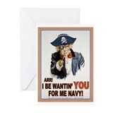 Cap'n Sam Greeting Cards (Pk of 10)