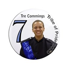"Tre Commings 3.5"" Button"