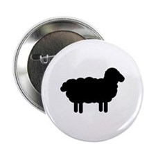 "Black sheep 2.25"" Button"