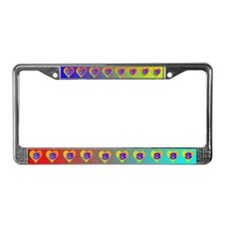 LUV 8 License Plate Frame