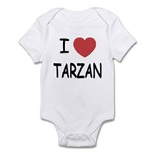 I heart Tarzan Infant Bodysuit